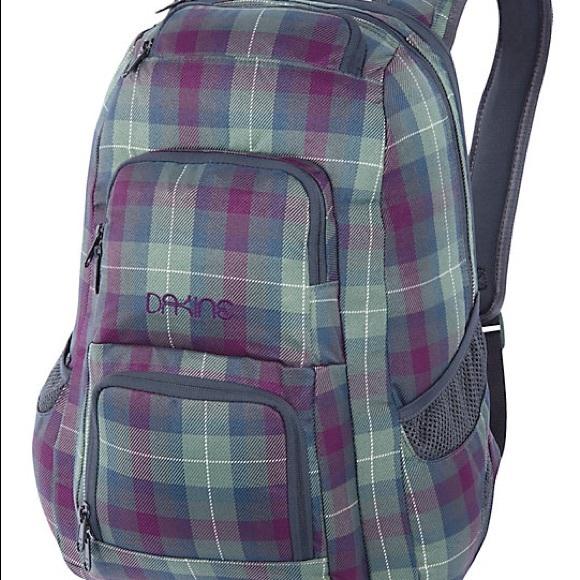 75b84d7a40e0a Dakine Handbags - Dakine Jewel Tartan Plaid backpack